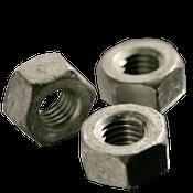 "1 1/4""-7 Heavy Hex Nut, A563 Grade A, Coarse, Hot Dip Galvanized (10/Pkg.)"