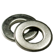 #10 SAE Flat Washers Low Carbon Zinc Cr+3 (5 LBS/Pkg.)