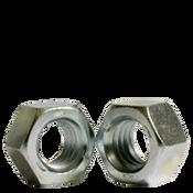 "1 1/2""-6 Finished Hex Nut, Grade 5, Coarse Medium Carbon Steel, Zinc Cr+3 (10/Pkg.)"