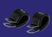 """3/4"""" Fully Cushioned Metal Clamp (10/Pkg.)"""