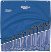 SET, Wrench, Combination, Black, SAE, 14 PC