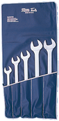 SET, Wrench, Combination, Chrome, 5 PC