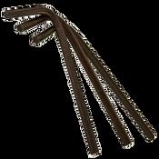 .372 Hex Keys, Alloy 8650 SPLine, Short Arm (250/Bulk Pkg.)