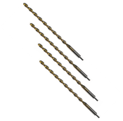 "1/4"" Type 221-PT Heavy Duty, Parabolic Flute, Taper Length Tang Drive (6/Pkg.), Norseman Drill #34680"