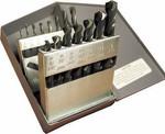 15 Piece CAD-15A V-Line, Heavy Duty, Mechanic Length Drill Bit Set, Norseman Drill #43352