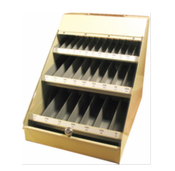 300 Piece Assortment, Type 100 Fractional Drill Bits in Metal Display Case