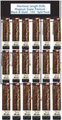 72 Piece Type 175-AG Mechanic Length Drills Premium Display Package