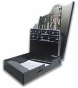 8 Piece Left Hand Drill Bolt Extractor Set - Spiral Extractor
