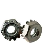 #4-40 External Tooth Keps Locknut, Zinc Cr+3 (100/Pkg.)