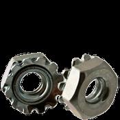 """3/8""""-16 External Tooth Keps Locknut, Zinc Cr+3 (100/Pkg.)"""