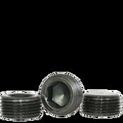 "Image of 1-1/4""-11 1/2 Pipe Plugs Alloy Flush-Seal 7/8"" Taper Black Oxide (USA) (100/Bulk Pkg.)"