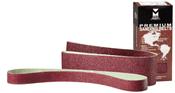 """80 Premium Portable Sanding Belt - 6"""" x 89"""", Grit: 180X , Mercer Abrasives 121689 (10/Pkg.)"""