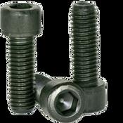 "#0-80x1/16"" (FT) Socket Head Cap Screws Fine Alloy Thermal Black Oxide (100/Pkg.)"