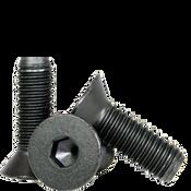 "#0-80x1/4"" (FT) Flat Socket Caps Fine Alloy Thermal Black Oxide (100/Pkg.)"