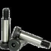 """1""""-3/4-10x2"""" Non-Standard Socket Shoulder Screws Alloy Thermal Black Oxide (10/Pkg.)"""
