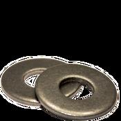 #10 USS Flat Washers Low Carbon Plain (50 LBS/Bulk Pkg.)