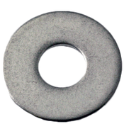 "#10x9/16""X0.04 Flat Washers 18-8 A2 Stainless Steel N400 (100/Pkg.)"