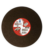 "12"" x 1/8""(5/32) x 20mm Cut-Off Wheel for Portable Gas Saw - Double Reinforced, Mercer Abrasives 604020 (10/Pkg.)"