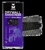 """Drywall Sandscreen Sheets - 4-1/8"""" x 11"""", Grit: 100, Mercer Abrasives 250100 (25/Pkg.)"""