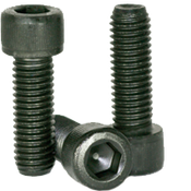 "#0-80x1"" Socket Head Cap Screws Fine Alloy Thermal Black Oxide (1,000/Bulk Pkg.)"