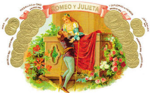Romeo y Julieta 1875 Exhibicion No. 1