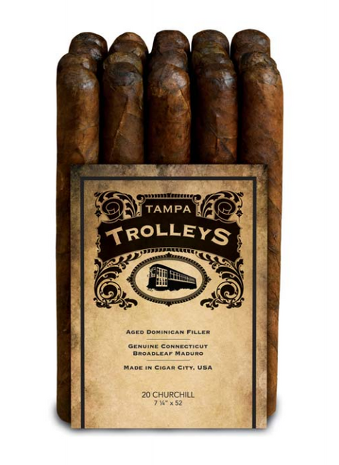 Tampa Trolleys Churchill Maduro
