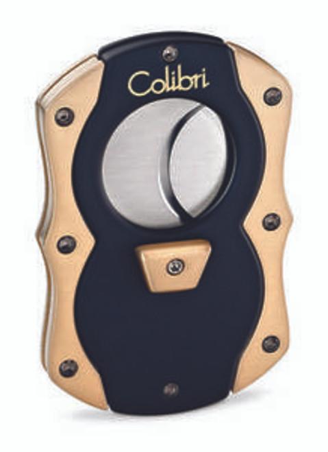 Colibri Cut Black Rubber And Gold