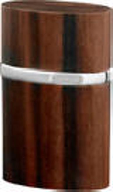 Brizard Triple Jet Rare Ebony Table Lighter
