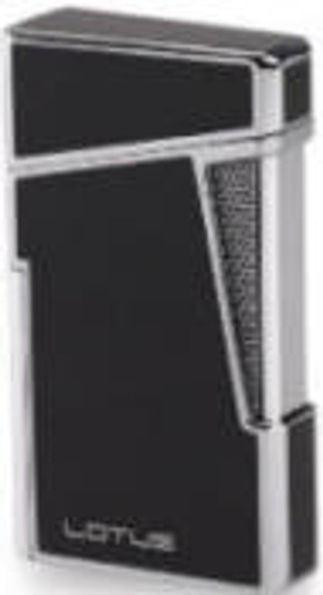 Lotus Apollo Lighter  Black Lacquer & Chrome