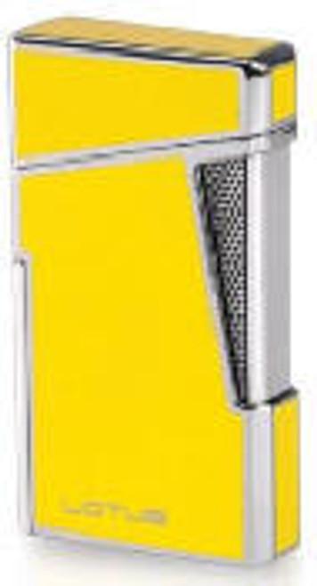 Lotus Apollo Lighter  Yellow Lacquer & Chrome