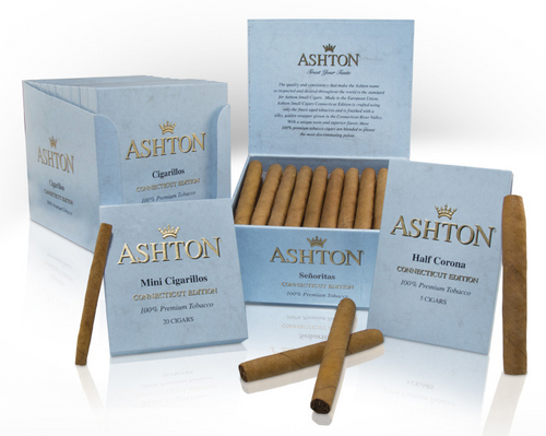 Ashton Small Cigar Connecticut Senoritas