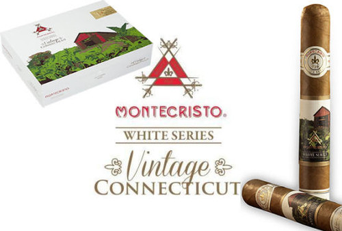 Montecristo White Series Vintage Connecticut No. 2