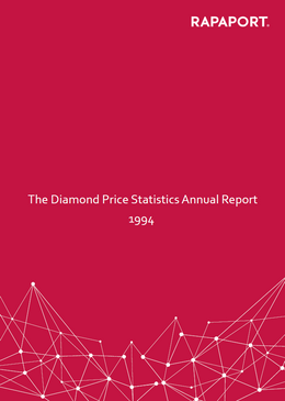 Rapaport Diamond Price Statistics Annual Report 1994