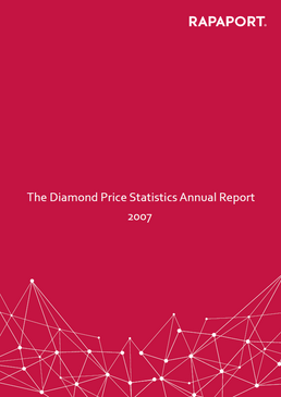 Rapaport Diamond Price Statistics Annual Report 2007