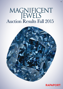 Magnificent Jewels Auctions Results -– Fall 2015