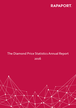 Rapaport Diamond Price Statistics Annual Report 2016