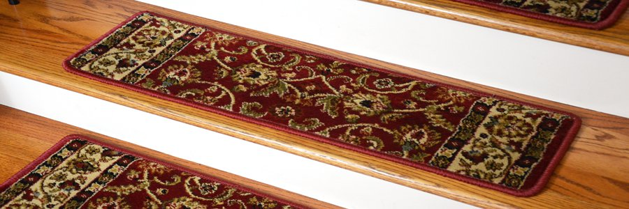 Tape Free Pet Friendly Stair Treads. Traditional Oriental Rug Patterns