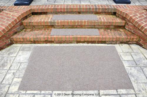 Dean Premium Indoor/Outdoor Carpet Non Skid Stair Treads and Mat ...