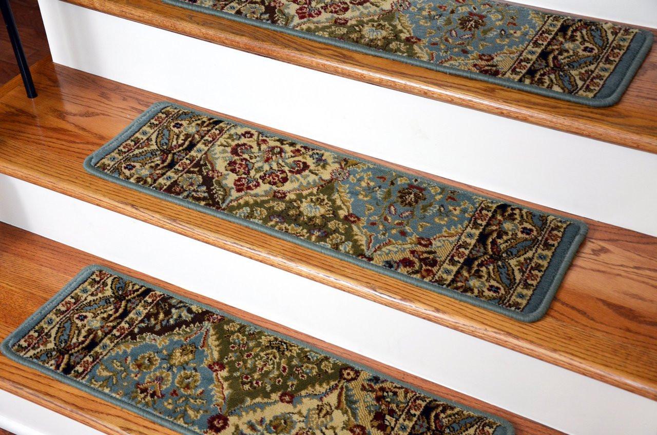 Dean Premium Carpet Stair Treads Set Of 13 Panel Design