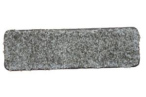 """Dean Premium Stair Gripper Tape Free Non-Slip Pet Friendly DIY Carpet Stair Treads 30""""x9"""" (15) - Stone Gray Shag"""