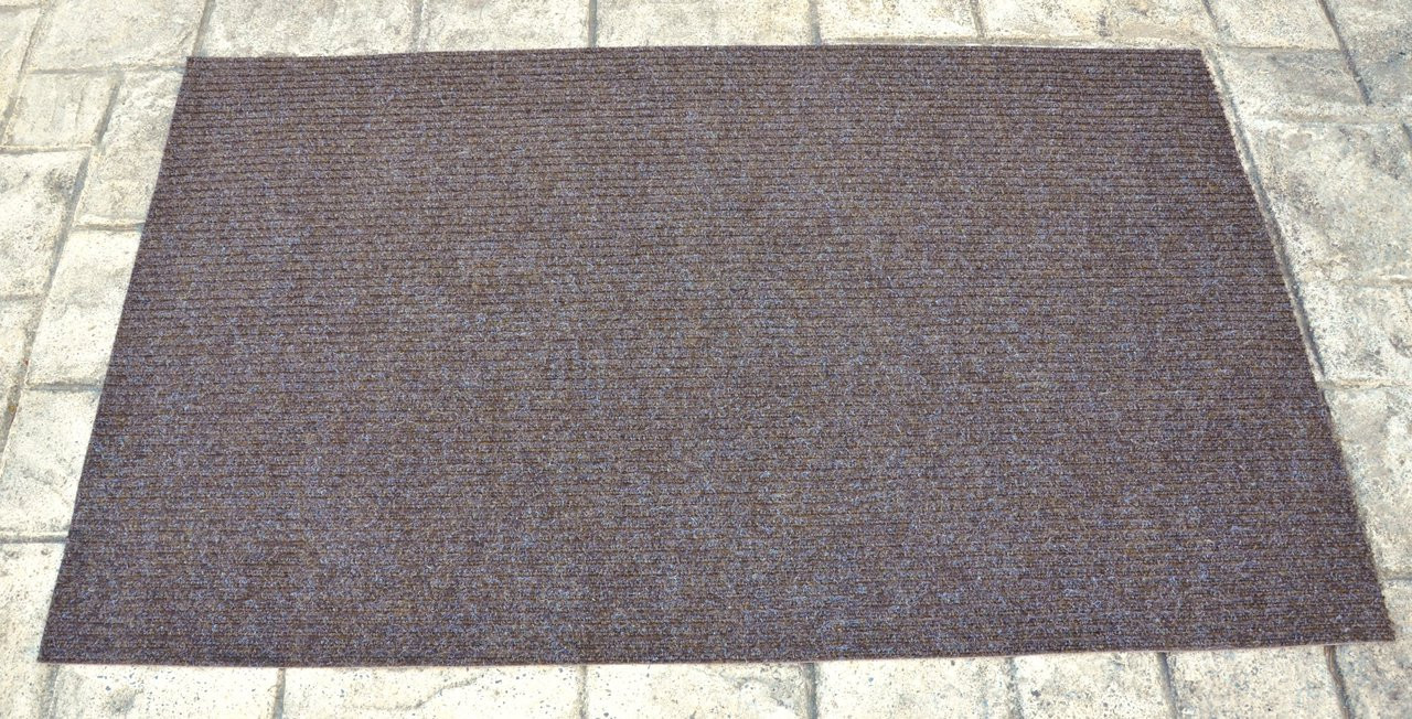 Dean 3 X 5 Indoor Outdoor Brown Carpet Door Mat Rug