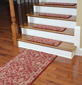 Premium Carpet Stair Treads - Baroque Spice (13) PLUS a Matching 5' Runner
