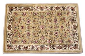 "Dean Classic Keshan Gold Oriental Area Rug Landing Mat (Set of 2) 27"" x 39"" (2x3)"