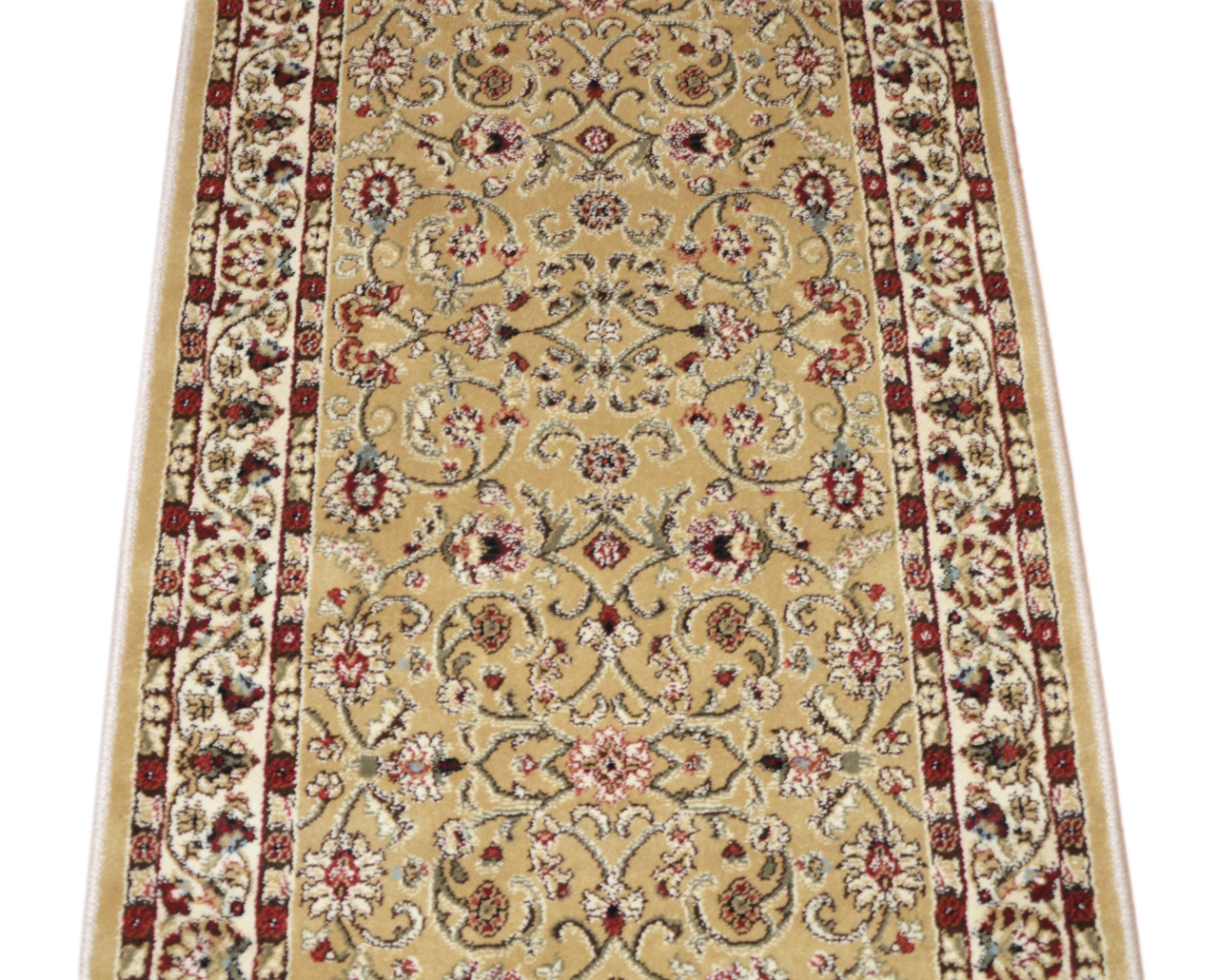 Dean Classic Keshan Gold Custom Length Carpet Rug Runner