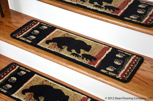 Dean Non Slip Pet Friendly Carpet Stair Step Cover Treads