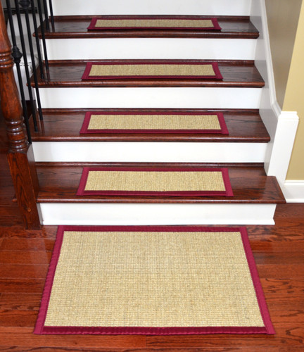 Dean Natural Fiber Sisal Stair Tread