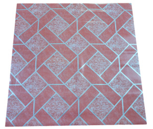 Dean Affordable Vinyl Flooring - Pink Patterned - 6' x 82' $0.40/sf