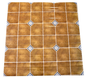 Dean Affordable Vinyl Flooring - Gold Patterned - 6' x 82' $0.40/sf