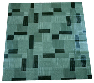 Dean Affordable Vinyl Flooring - Green Patterned - 6' x 82' $0.40/sf