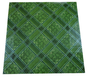 Dean Affordable Vinyl Flooring - Green Trellis - 6' x 82' $0.40/sf